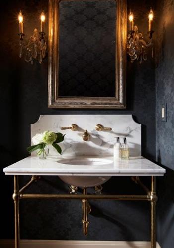 Brass Metal Washstand Sink