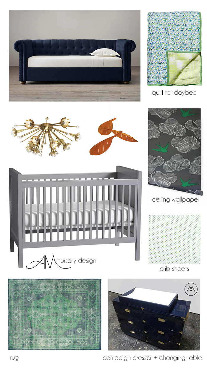 Ashley Manfred Nursery Room Design