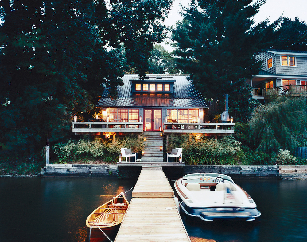 Boathouse Thom Filicia Lakehouse