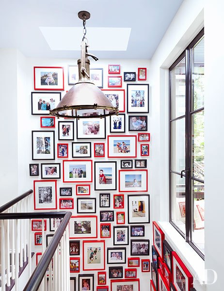 Nick Olsen Architectural Digest Gallery Wall