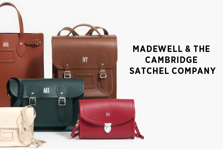 Madewell Cambridge Satchel Company Monogram