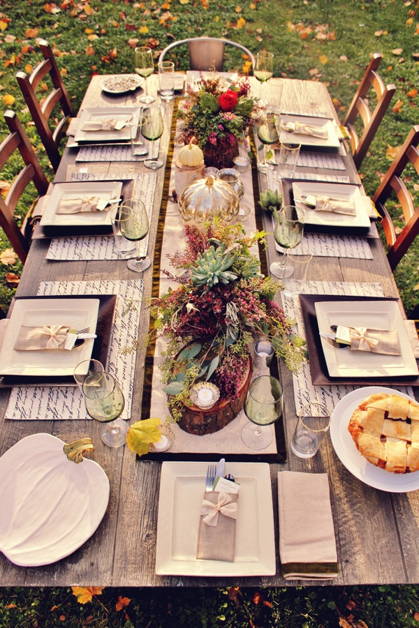 Beautiful Fall Table Inspiration