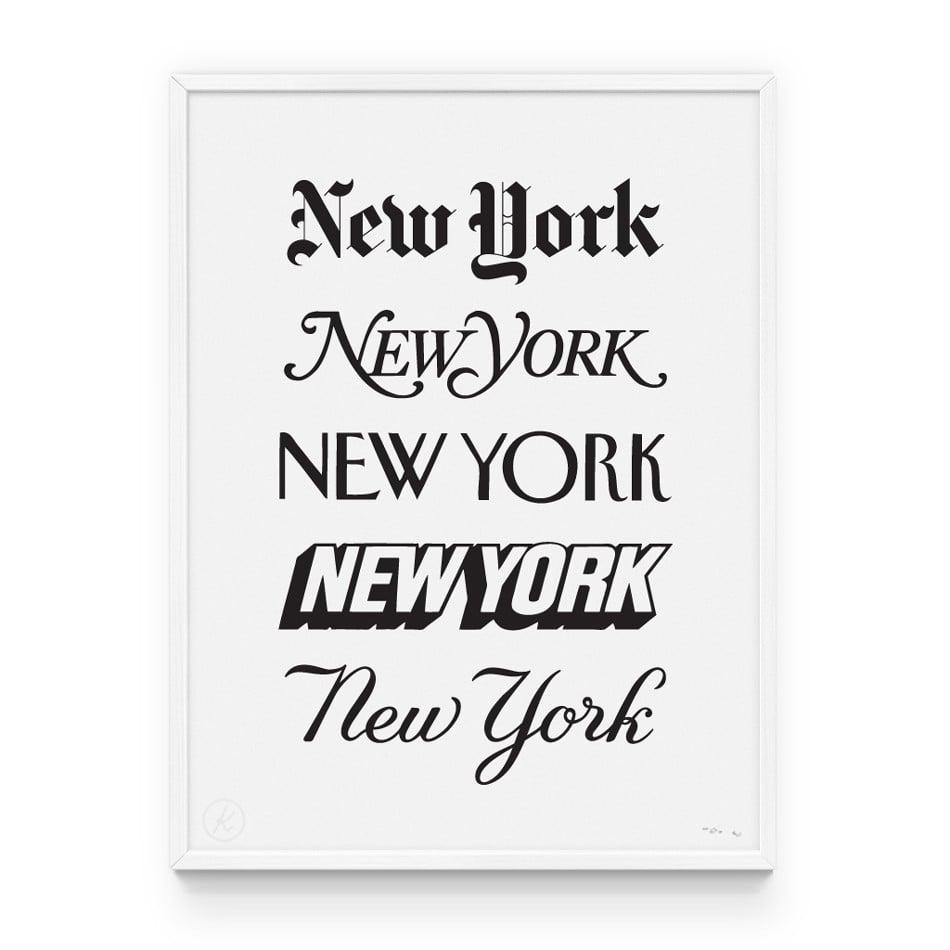 Knswlita New York Newspaper Fonts Print