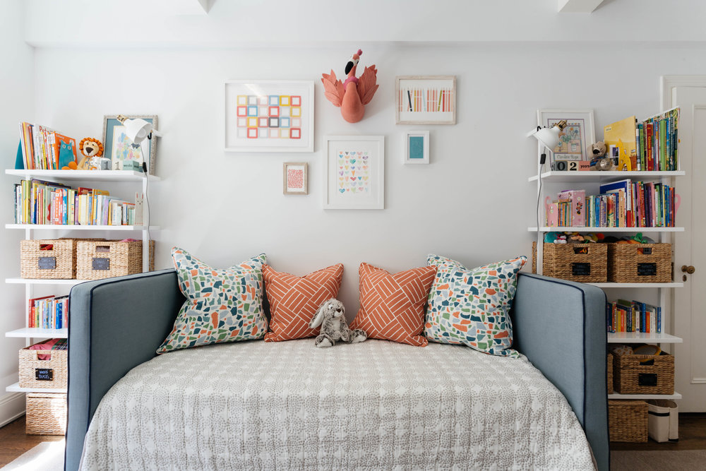 Ashley Manfred Interior Design Boy Girl Bedroom