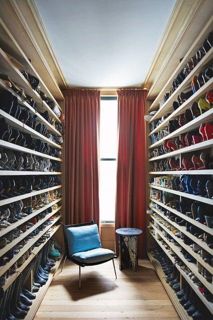 Jenna Lyons Soho Apartment Closet