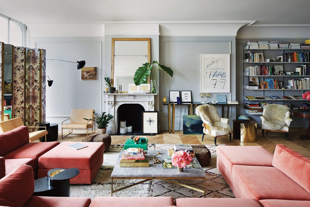 Jenna Lyon's Soho Apartment Living Room