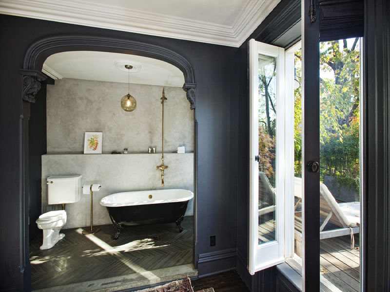 Jenna Lyons Townhouse Bathroom