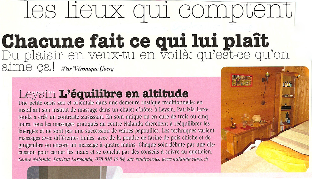 Edelweiss Magazine · Septembre 2008