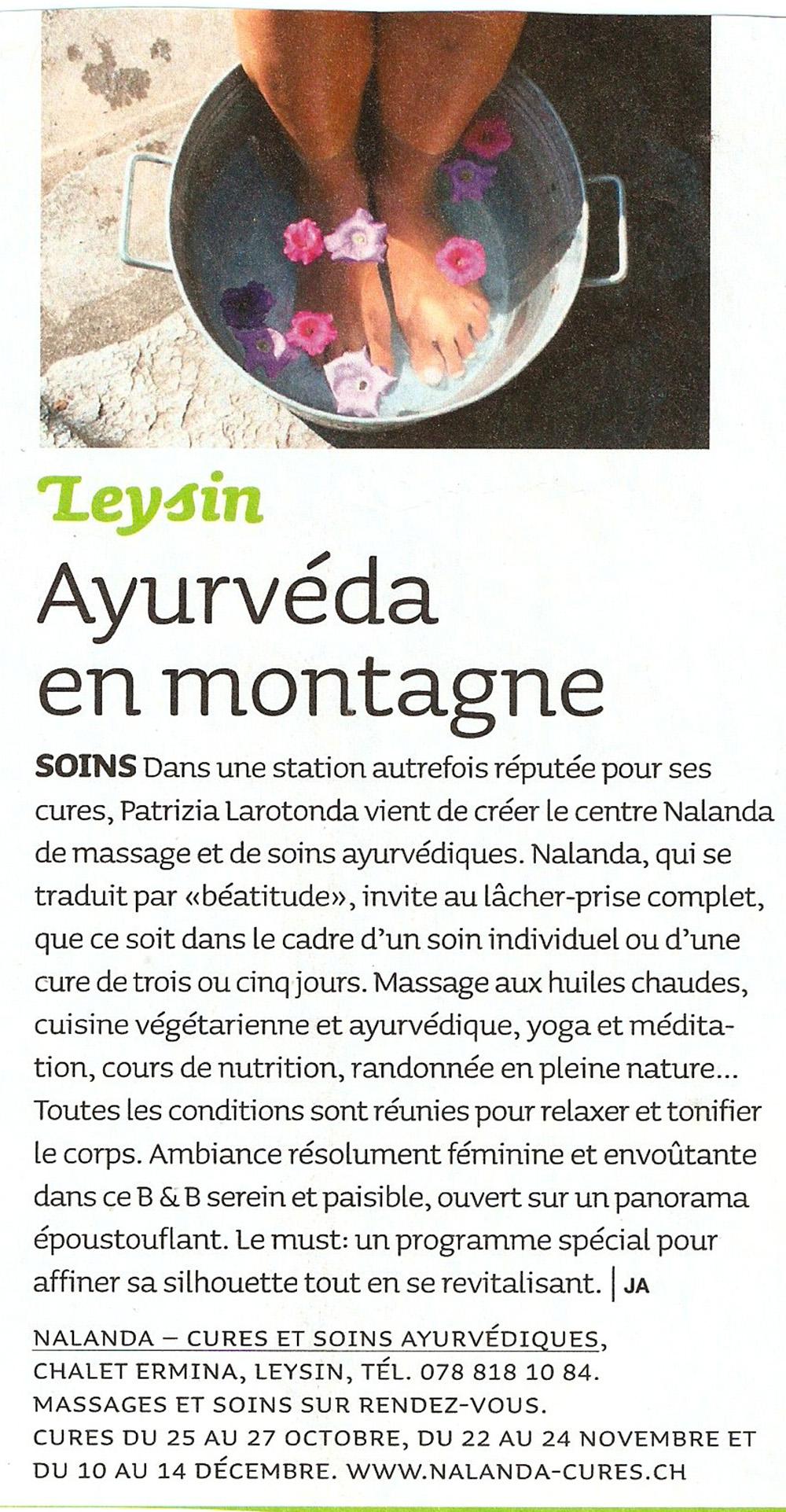 Femina Magazine · Novembre 2007
