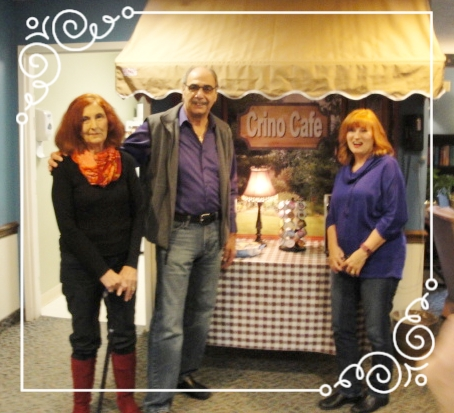 Son Frank, wife Gerri and daughter Mary Louise joined Fig Street for the Grand Opening of the Crino Café.