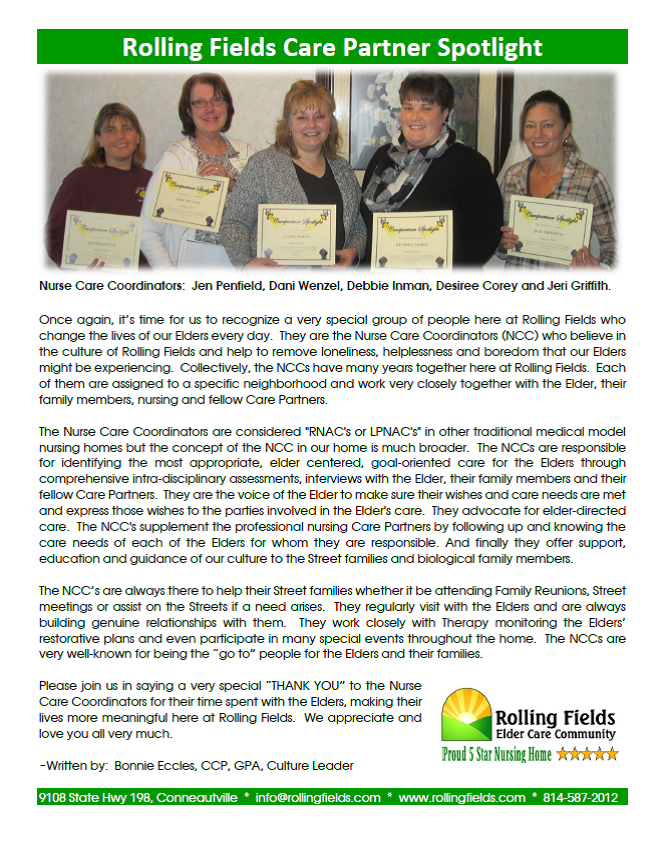 Rolling Fields Care Partner Spotlight, January.png