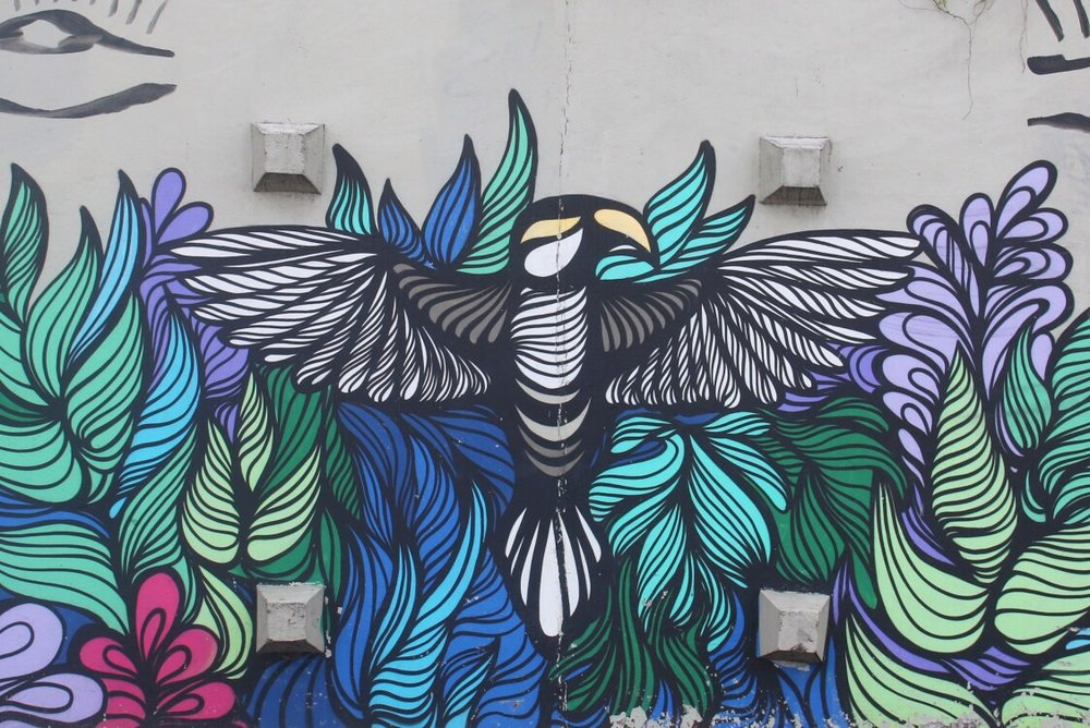 Graffiti near Ipanema
