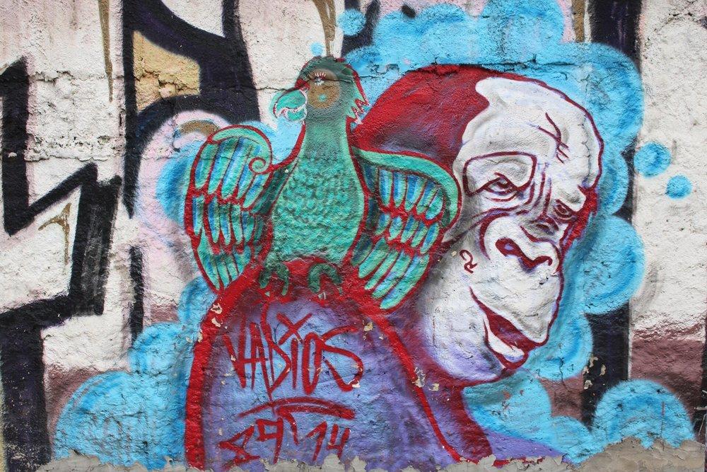 Grafitti in Vila Madelena