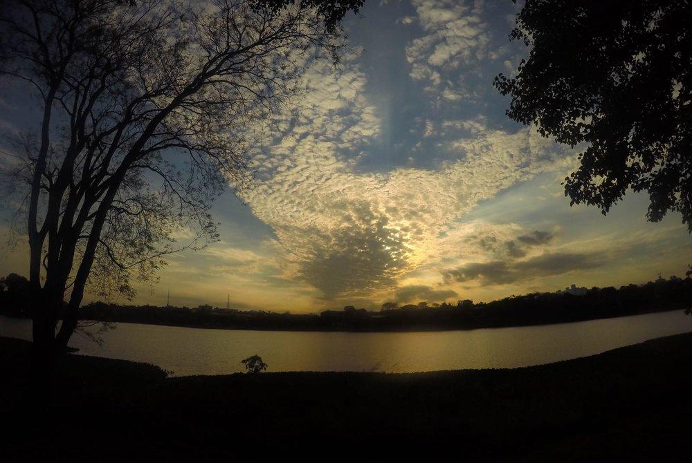 Sunset in Ciudad del Este