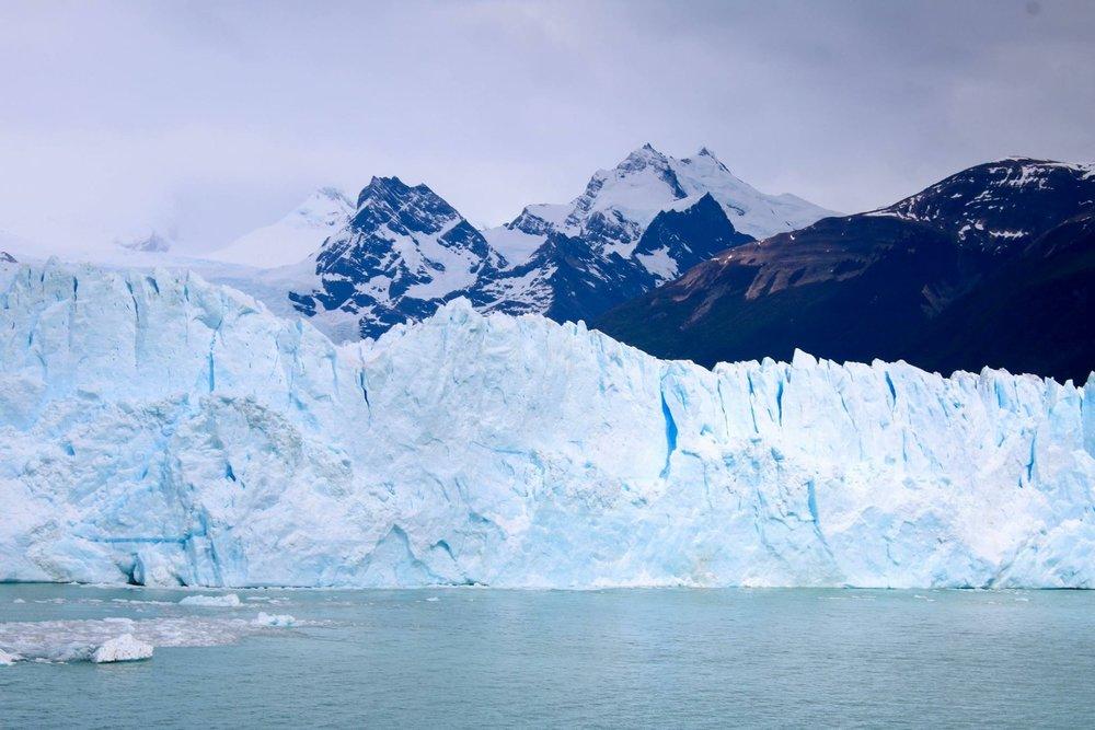 The Glaciar Face