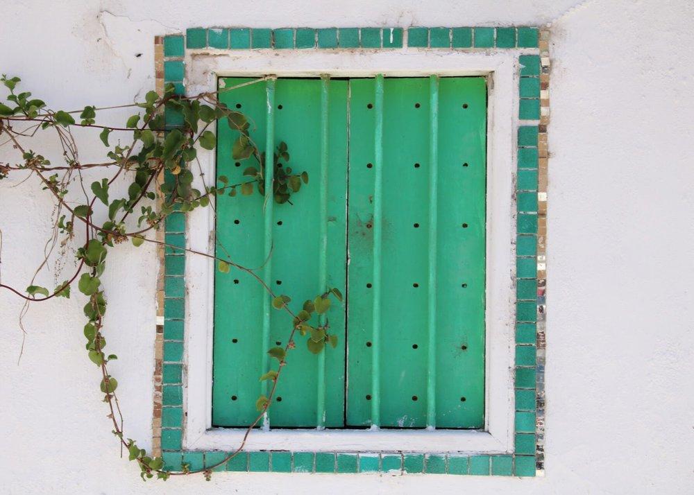 Green Window in Pisco Elqui