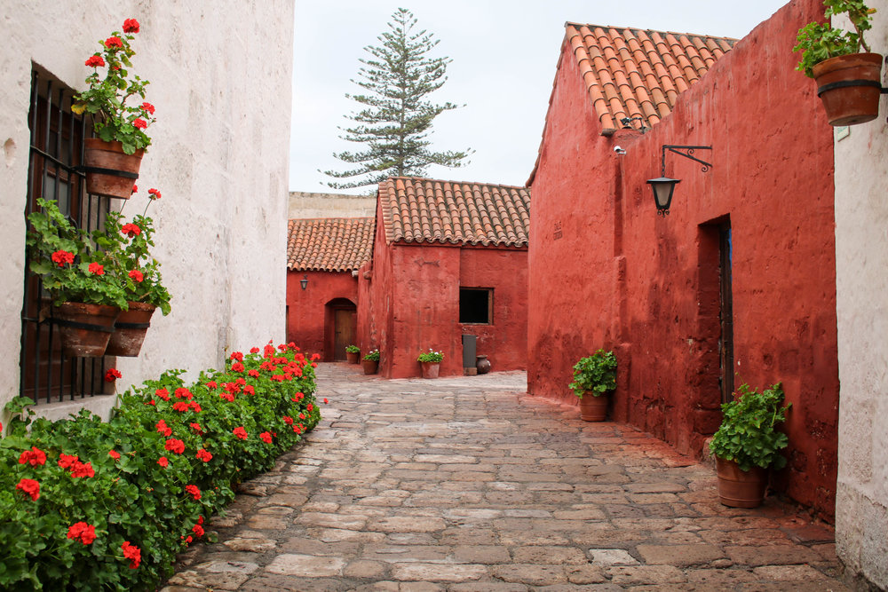 Colourful Santa Catalina Convent