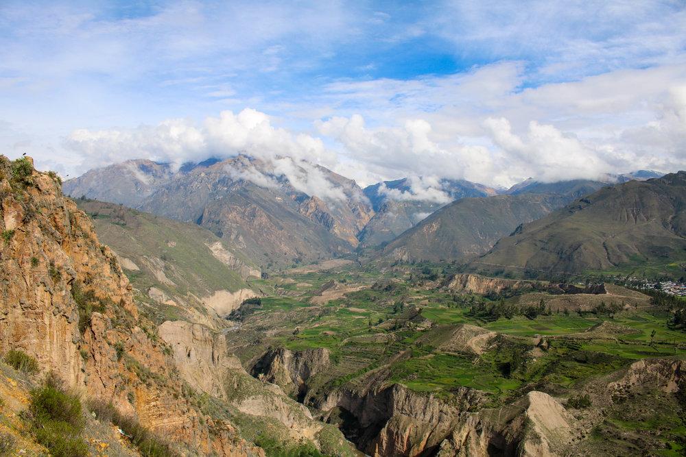 Lush Colca Canyon