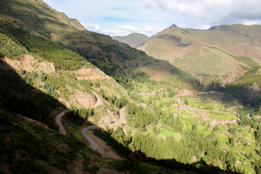 Light and Shadow at Pisac in the Sacred Valley, Peru