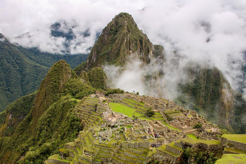 The Iconic View at Machu Picchu, Peru