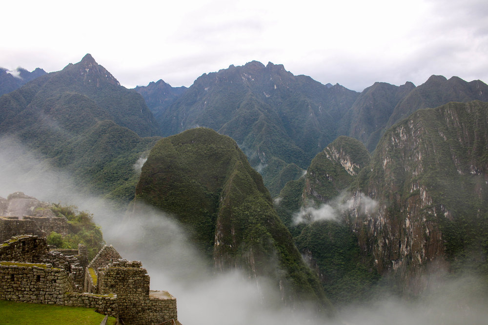 The Beauty of the Mountains at Machu Picchu, Peru