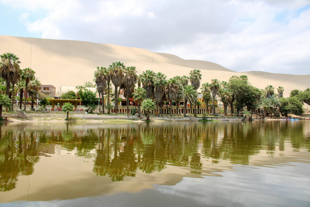 Desert Oasis of Huacachina, Peru