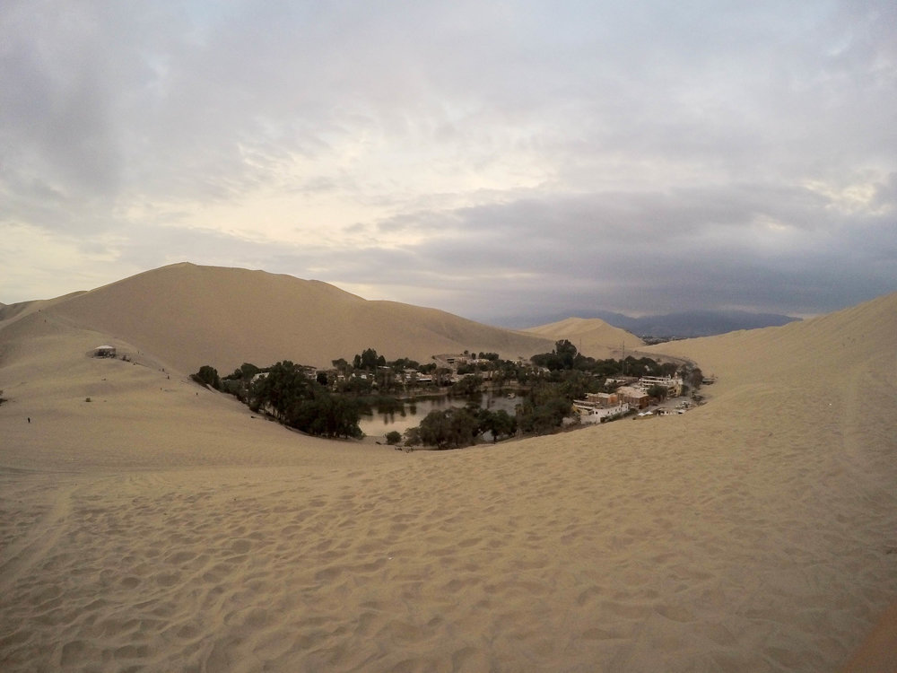 The Oasis of Huacachina, Peru
