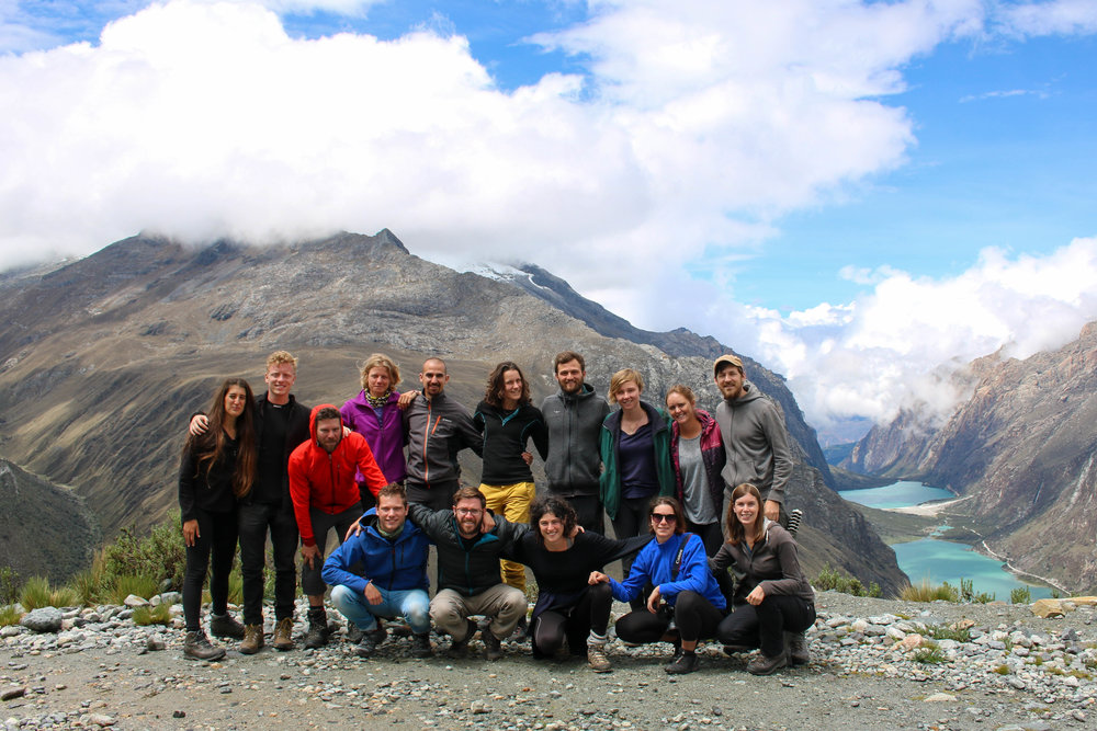Our Santa Cruz Trekking Group, Peru
