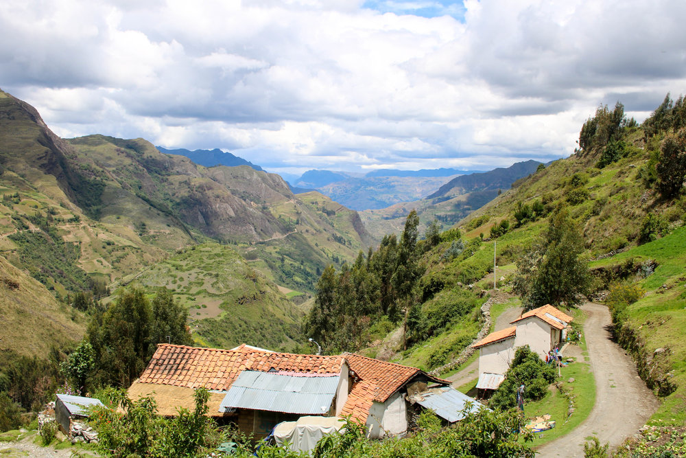 Peruvian Life in the Andes