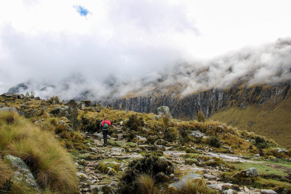 Through Rock and Cloud I Walked, Peru