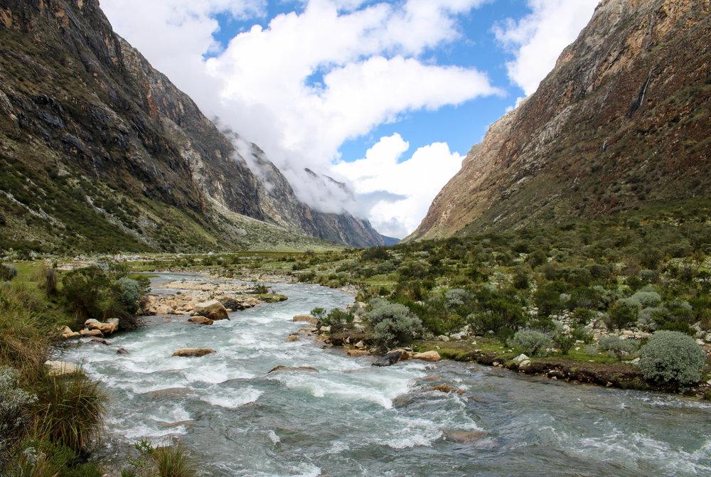 A River Runs Through It, Peru