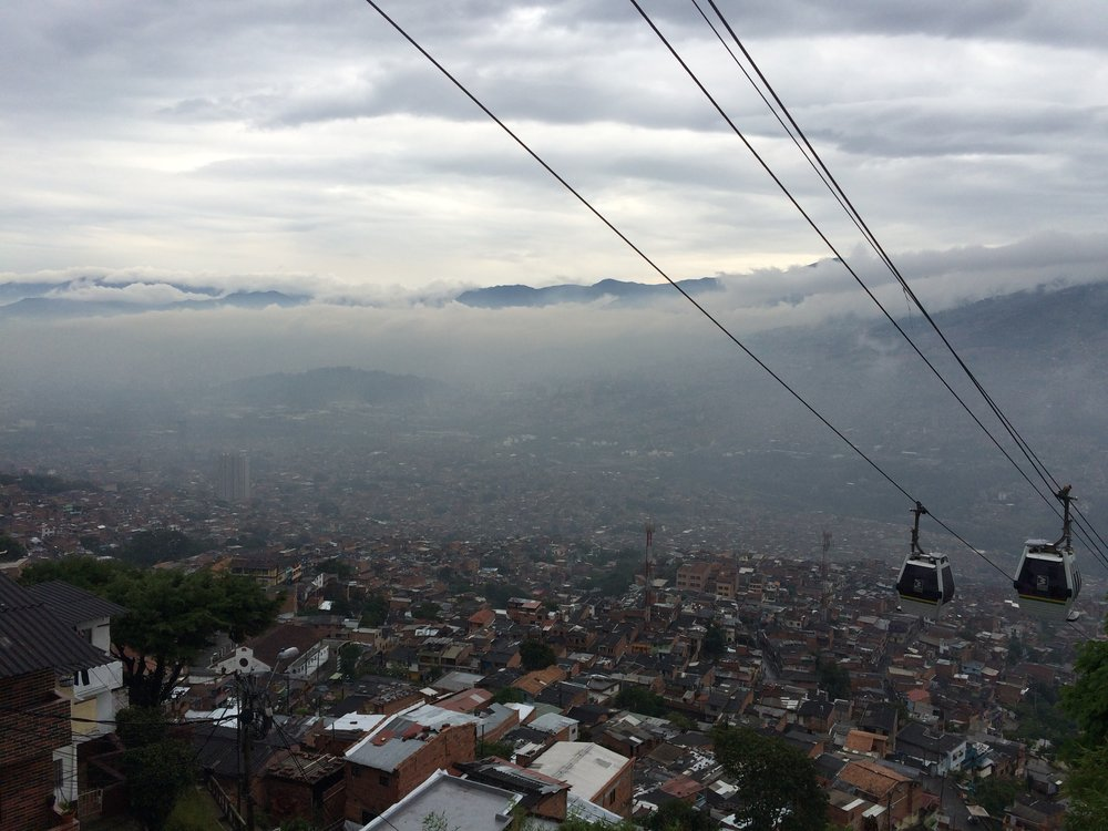 Medellín's Cable Cars, Colombia