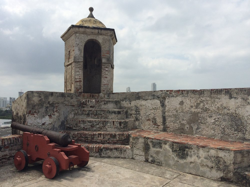 The Fort in Cartagena, Colombia