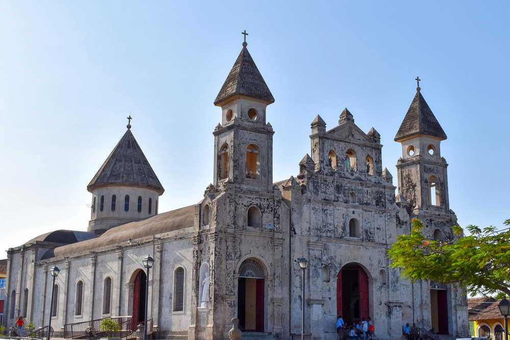 Beautiful Buildings of Granada in Nicaragua