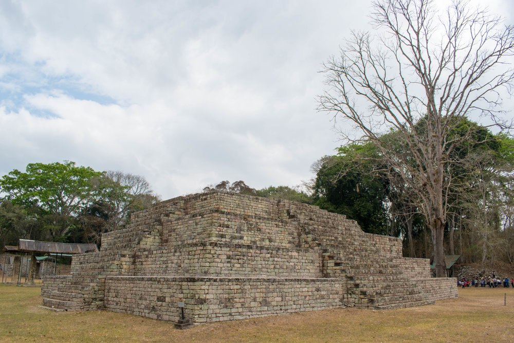 Stepped Pyramid in Copán, Honduras