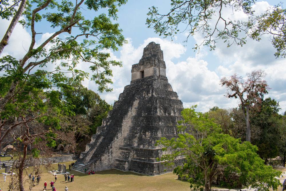 Temple I in Tikal, Guatemala