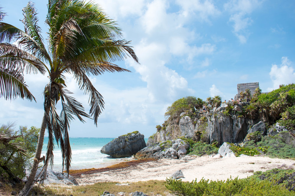 Paradise at Tulum in Mexico