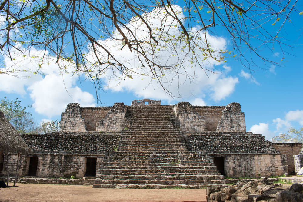 The Mayan Ruins of Ek Balam in Mexico