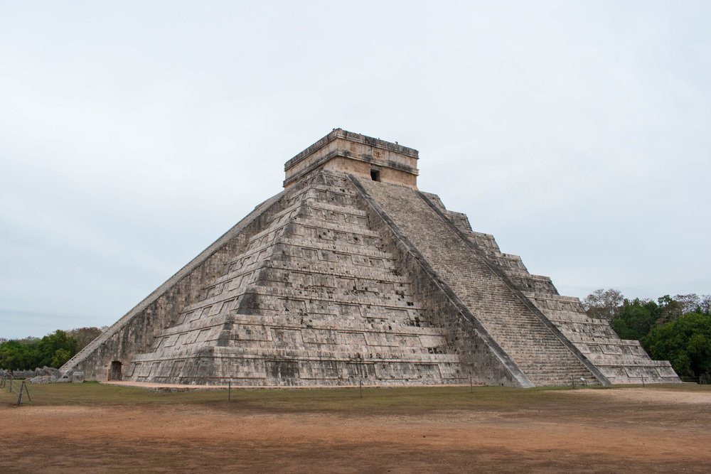 El Castillo in Chichén Itzá Without The Crowds, Mexico