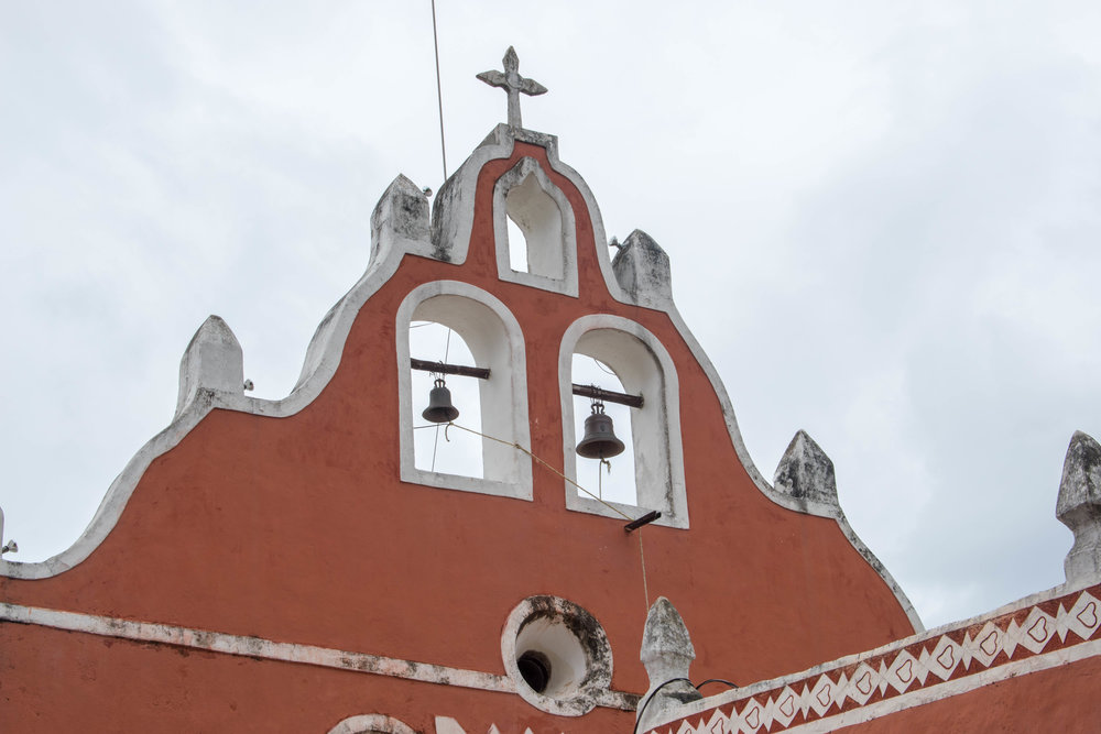Bells in Valladolid in Mexico