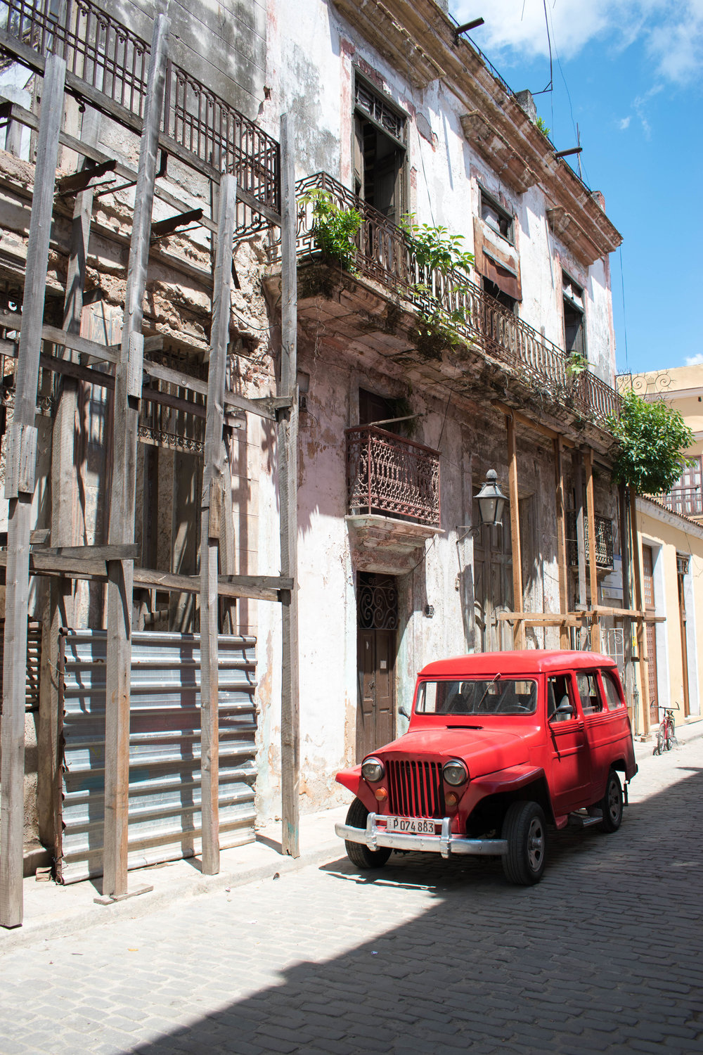 On The Outskirts of Old Havana, Some Buildings Require Attention, Cuba