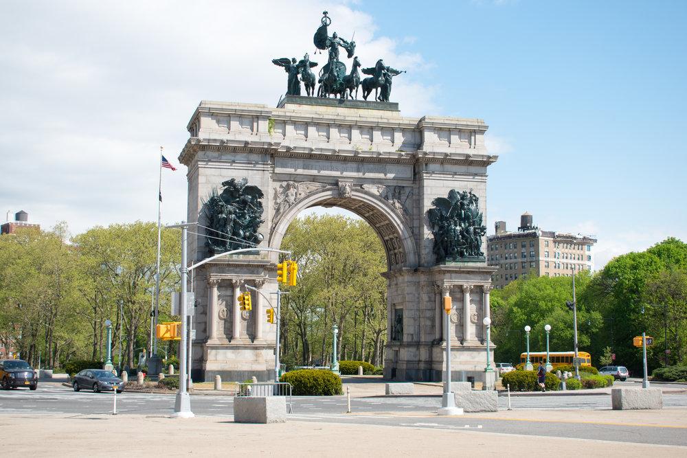 Grand Army Plaza in Brooklyn, New York