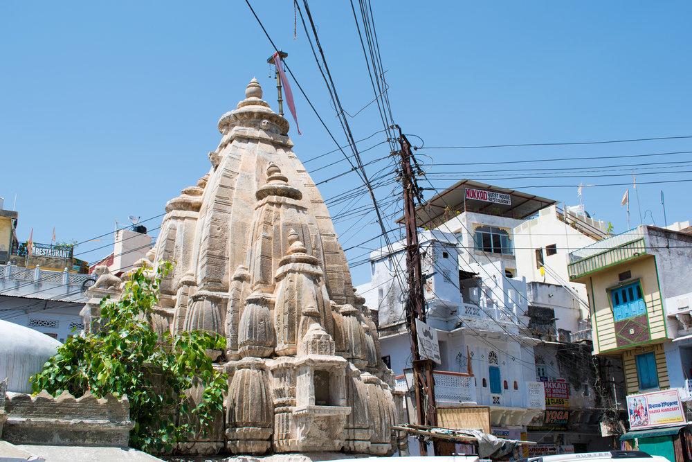 Walk Around Town In Udaipur, India