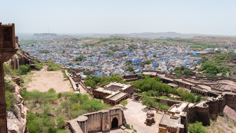 The Blue City Of Jodhpur In India