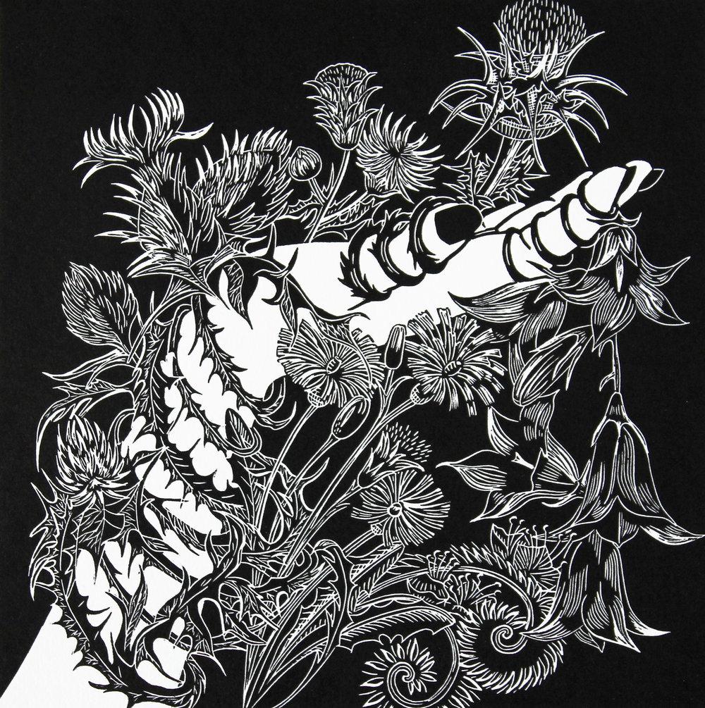 Callieach Bheara Print By Cally Conway