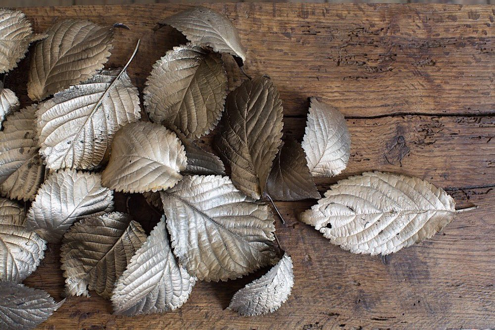 Leaf Sculptures by Ashleaf
