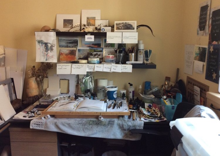 The Studio of Carolyn Roberts