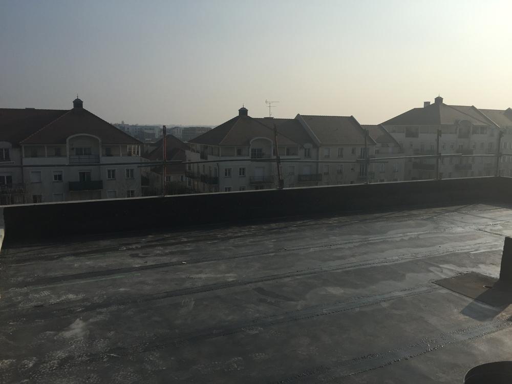 Réalisation de l'étanchéité des rooftops