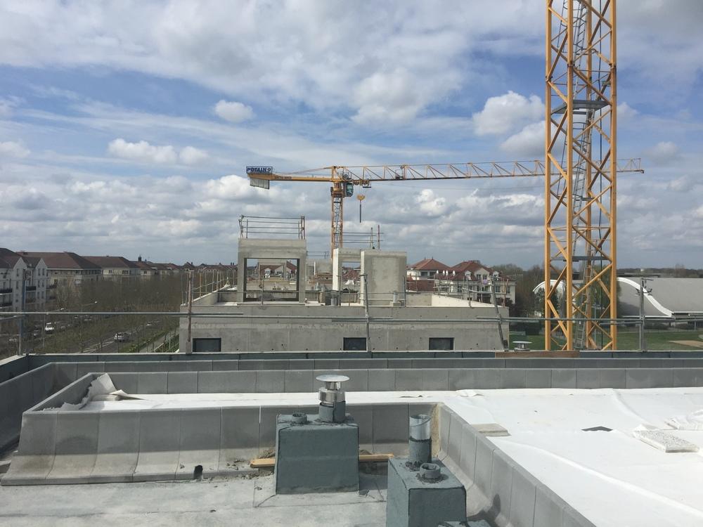 Vue depuis les appartements Rooftop