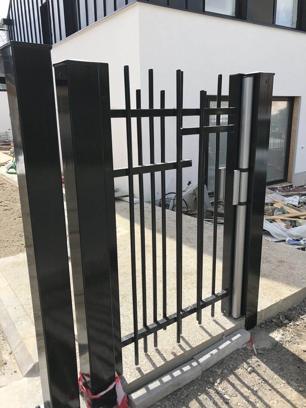 Installation du portillon